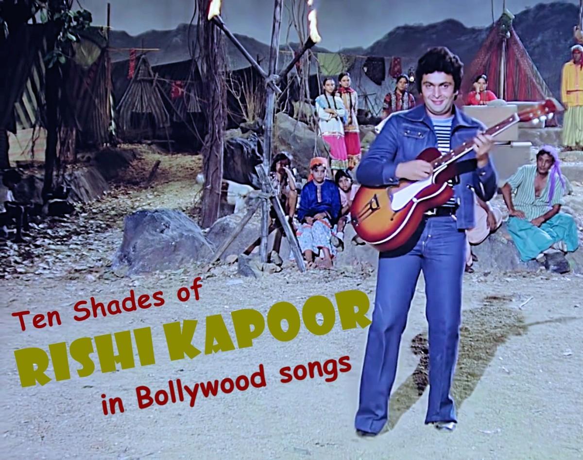 Ten Shades of Rishi Kapoor in Bollywood Songs