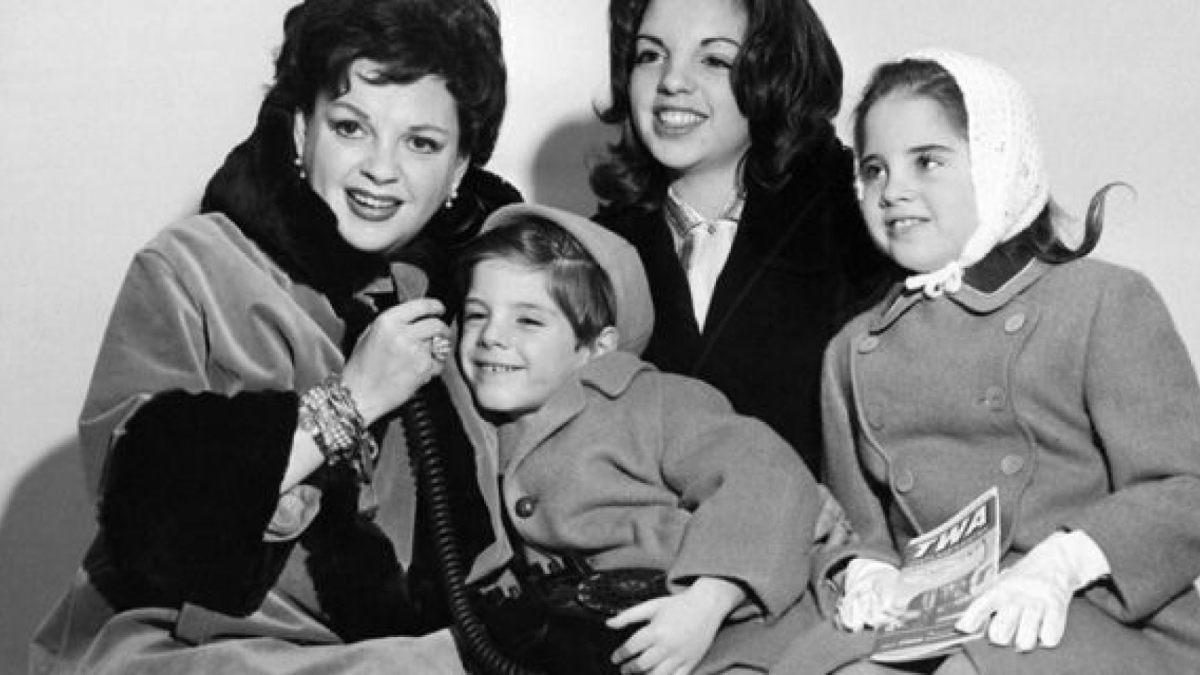 Judy and her three children