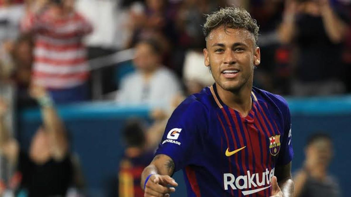 Neymar at Barcelona