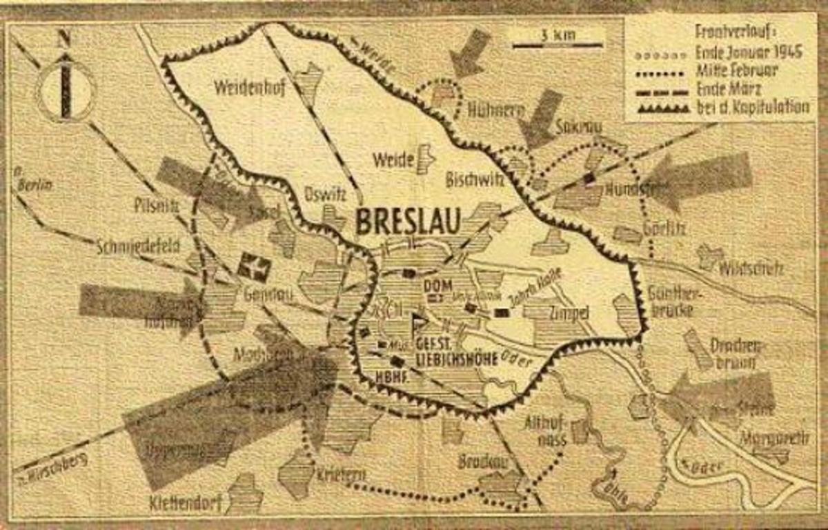 Hitler's Stalingrad at Breslau, 1945