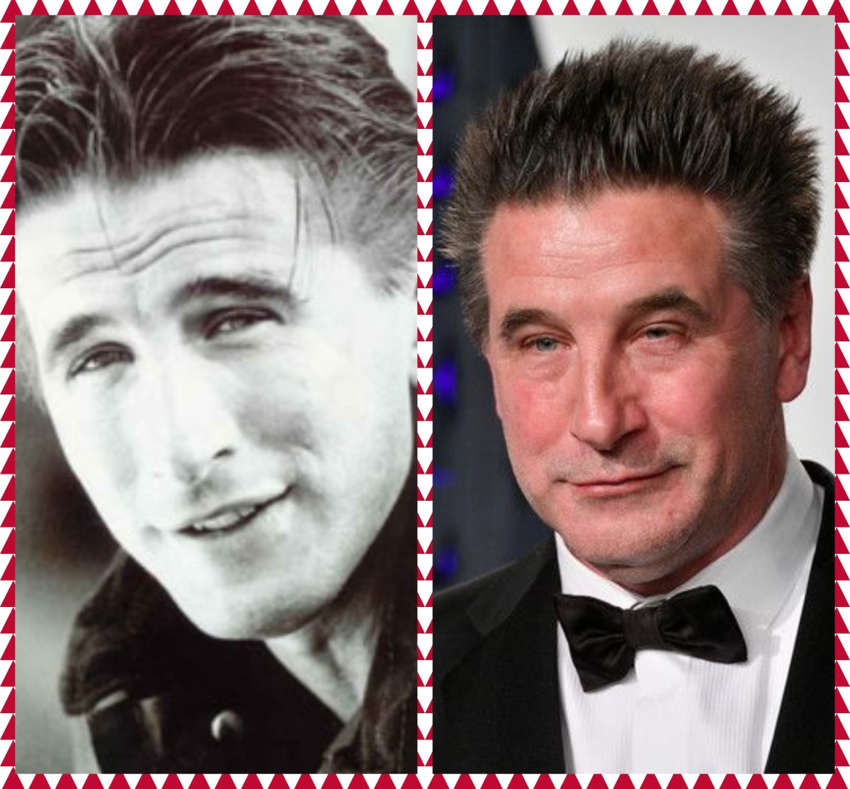 William Baldwin Then and Now