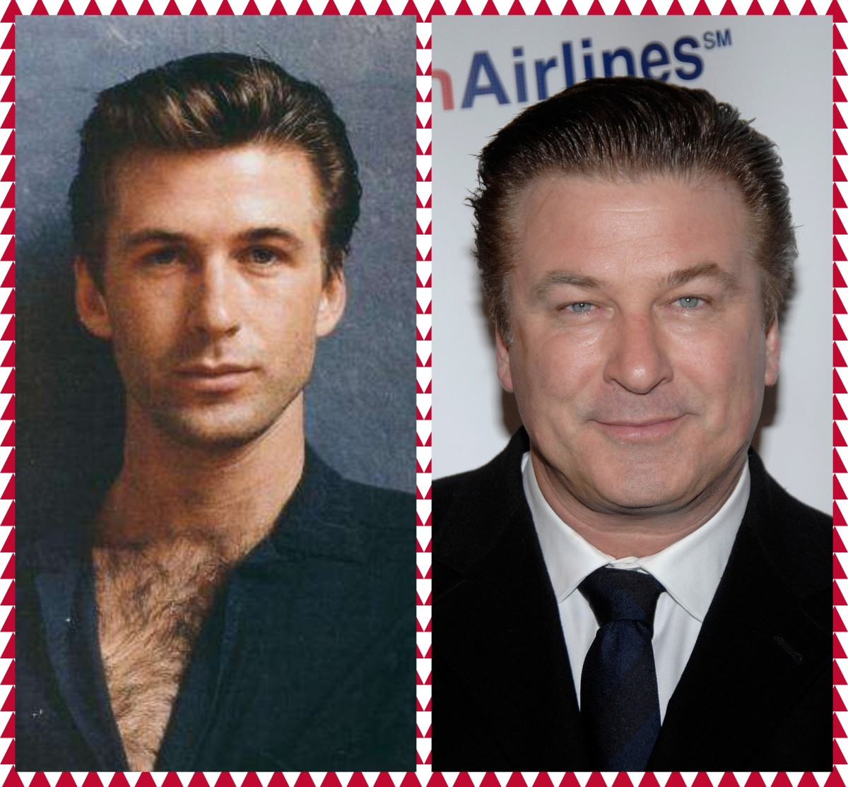 Alec Baldwin Then and Now