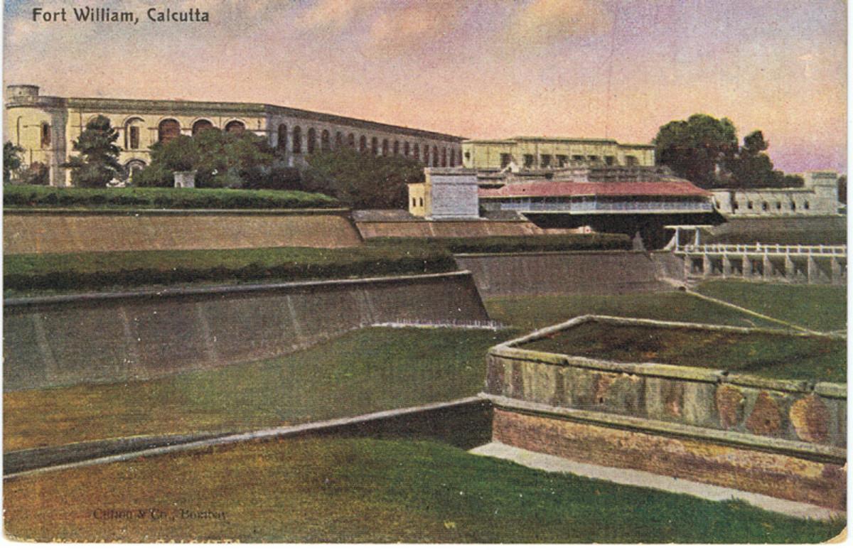 Fort William at Calcutta: Tribute to the Raj