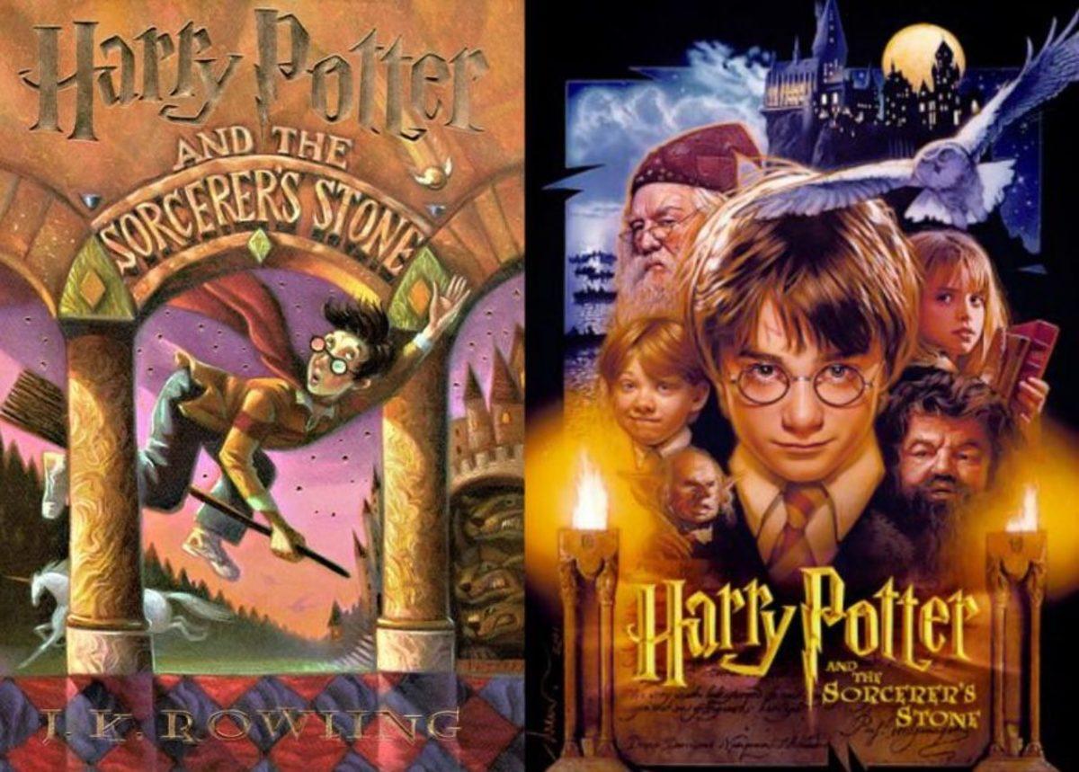 Harry Potter 1: Book vs Movie