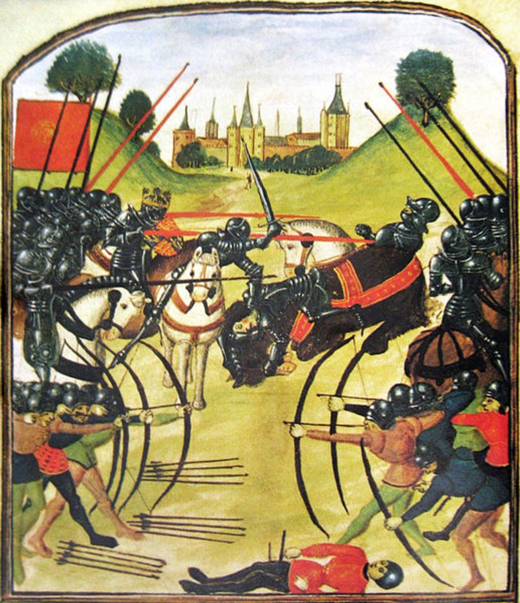 Battle of Tewkesbury - Public Domain