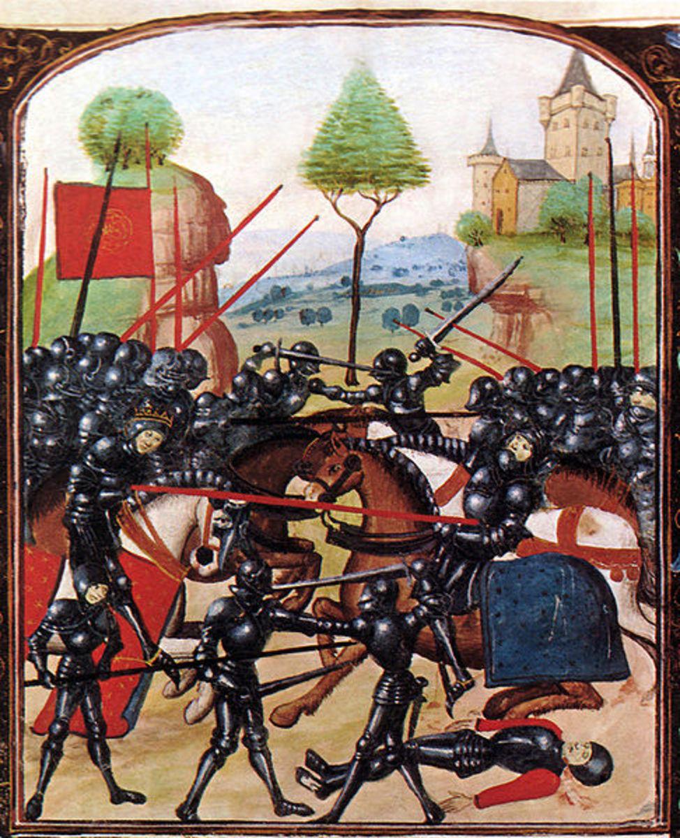 Battle of Barnet - Public Domain