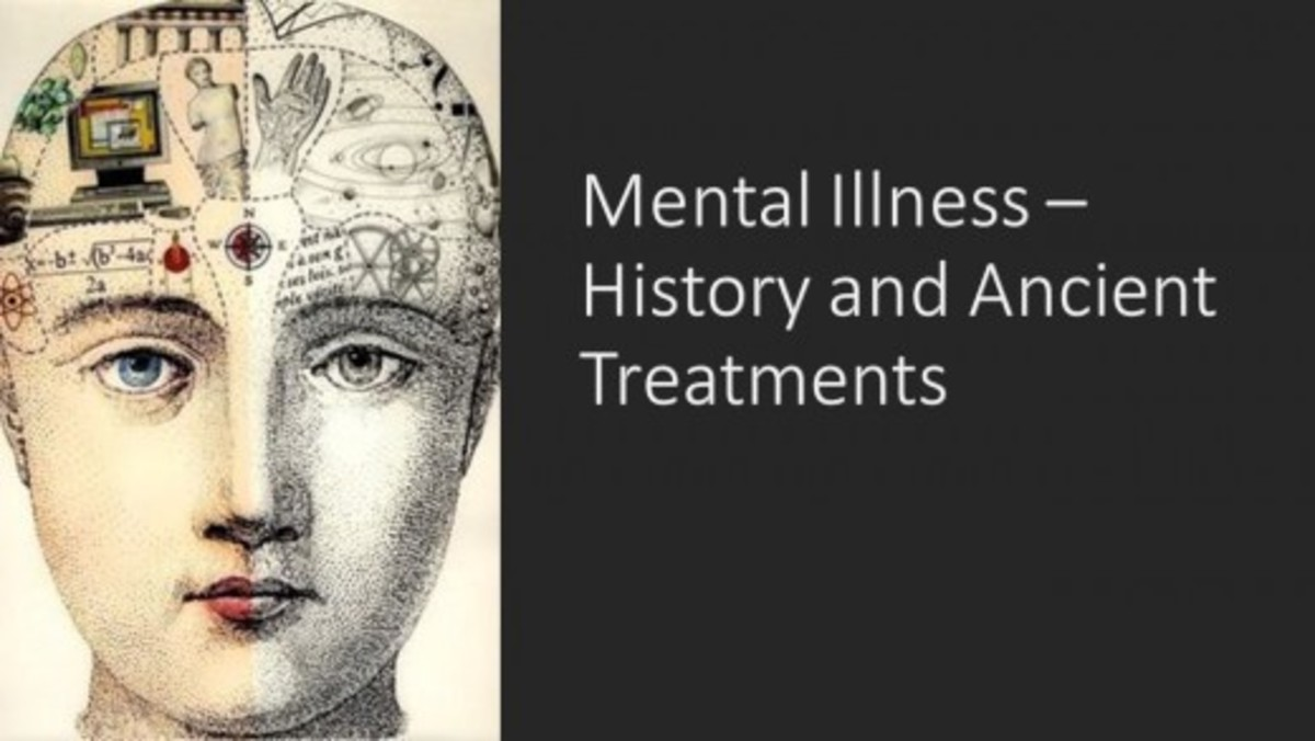 History of Mental Illness Prior to the 1900s Plus Cruel and Ineffective Treatments of the Times