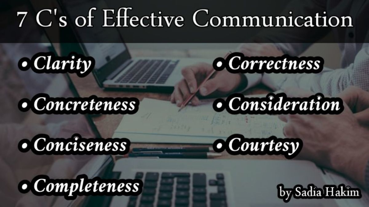 7 C's of Effective Communication-academic Writing