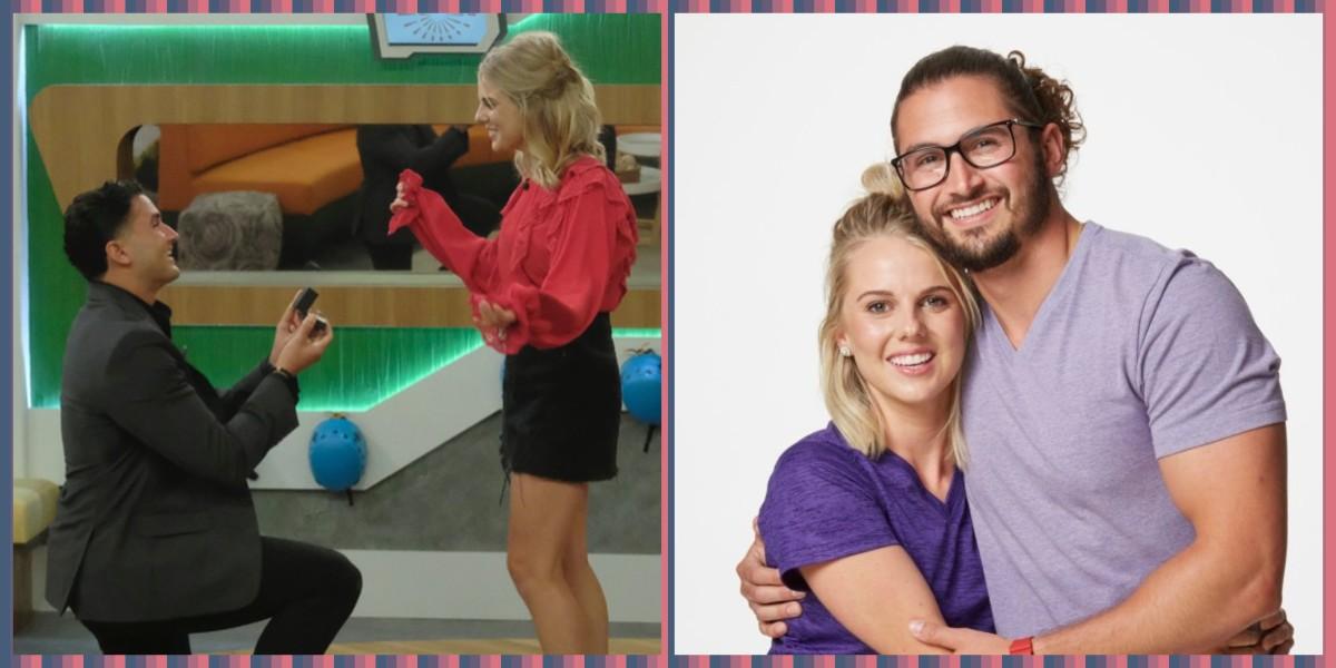 Victor and Nicole on Big Brother Vs Amazing Race