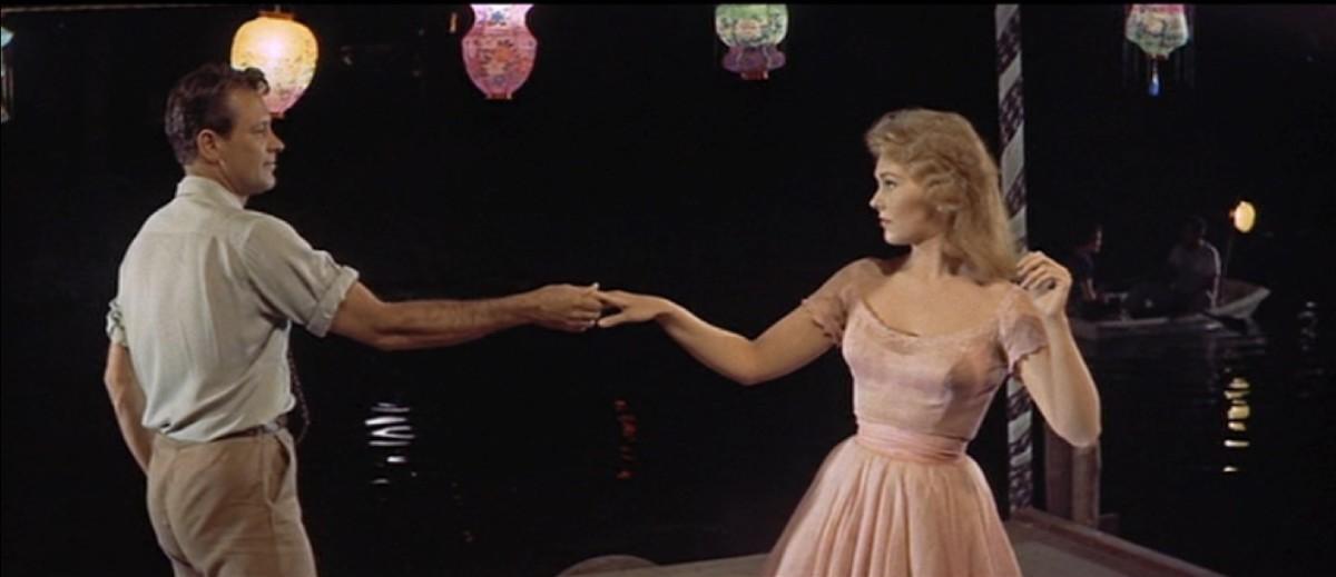 William Holden dancing with Kim Novak