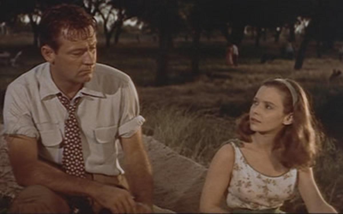 William Holden and Susan Strasberg