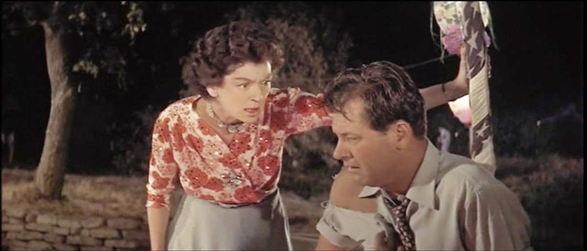Rosalind Russell and William Holden