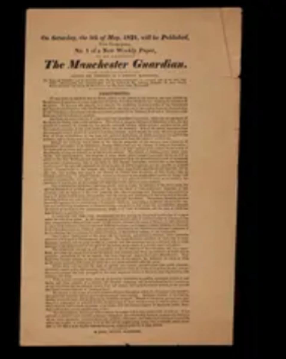 Guardian Prospectus, 1821.