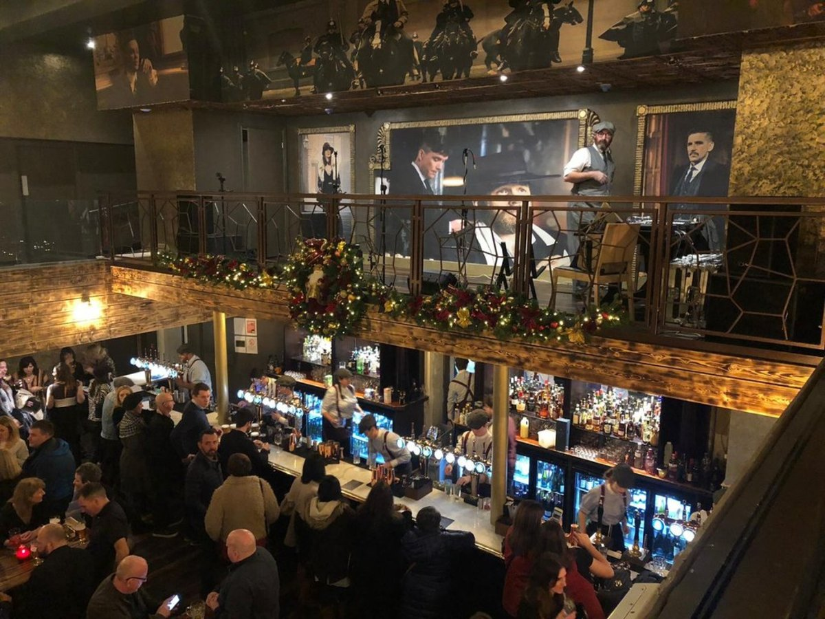 Peaky Blinders Bar, Manchester