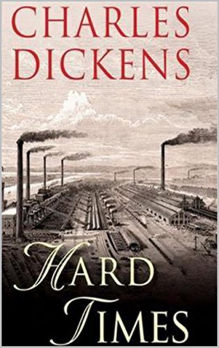 Copy of Charles Dickens's novel Hard Times (1854).
