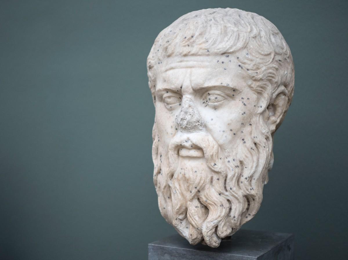 Plato Sculpture Art Statue