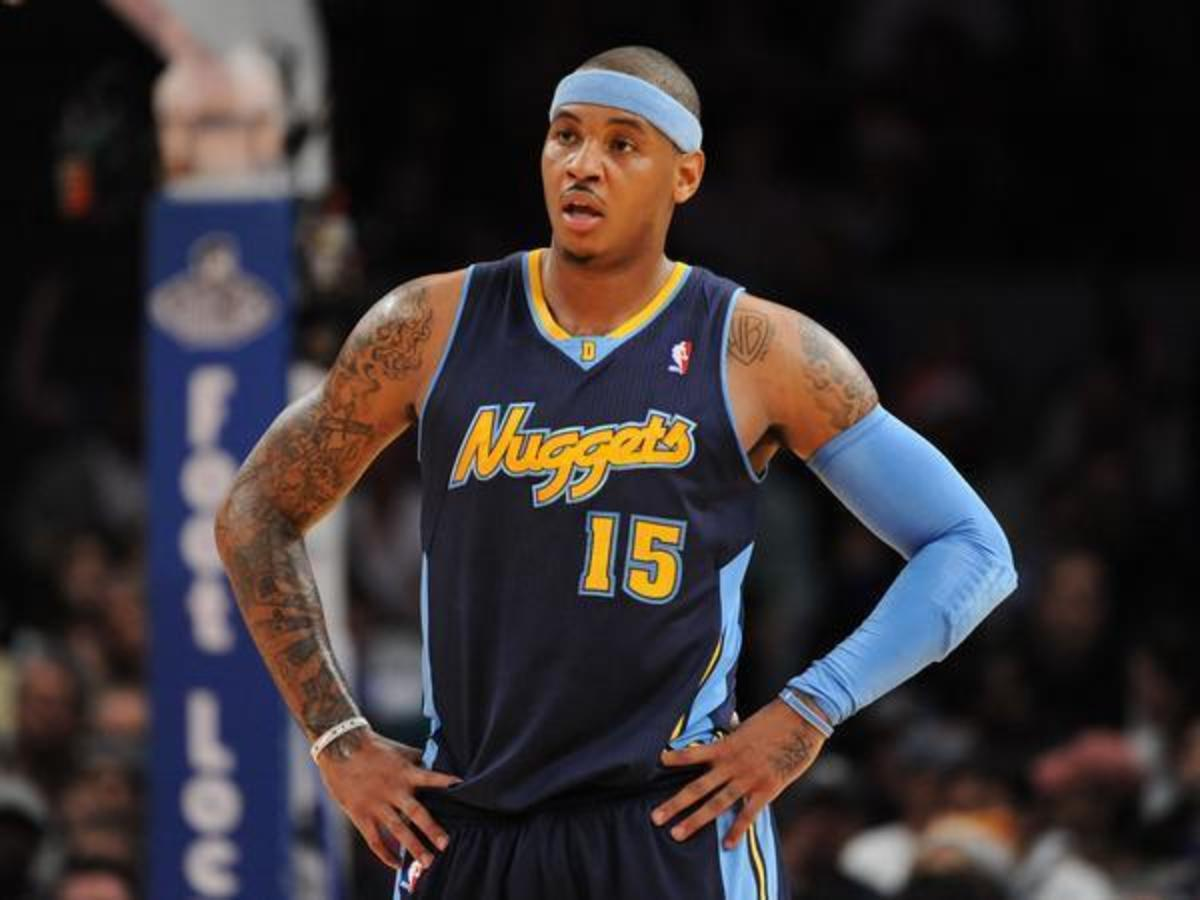 The Nuggets sent Carmelo to the Knicks in 2011.