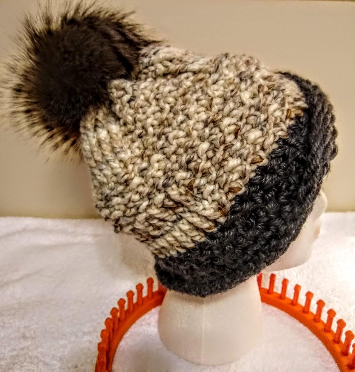 Loom Knit by: Christie Davis