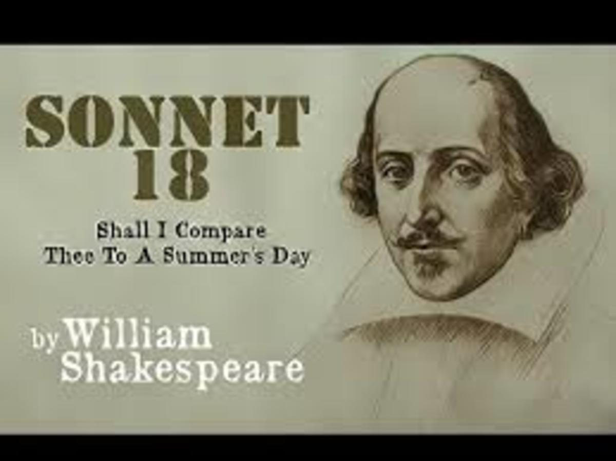 Shakespeare's Sonnet 18: Shall I Compare thee to a Summer's Day?