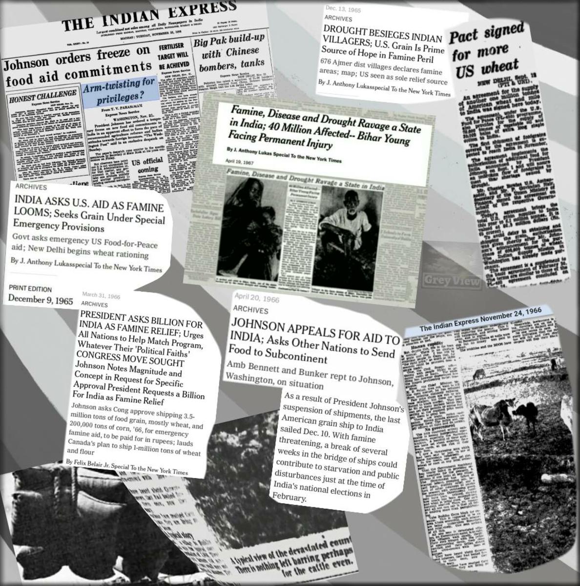 The Bihar Famine (1966-67) - Beyond Politics, Aid and Diplomacy