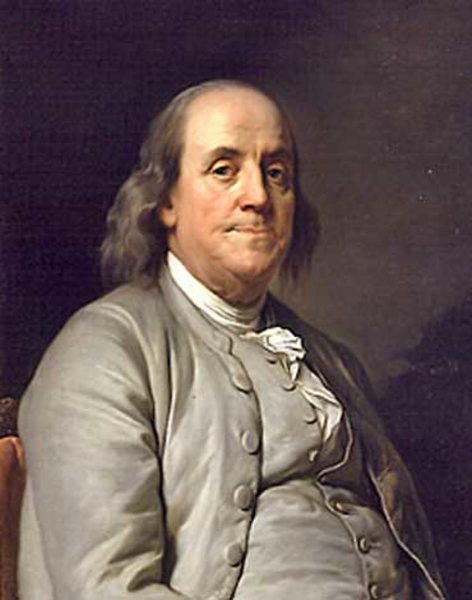 Ben Franklin or maybe Celia Single.
