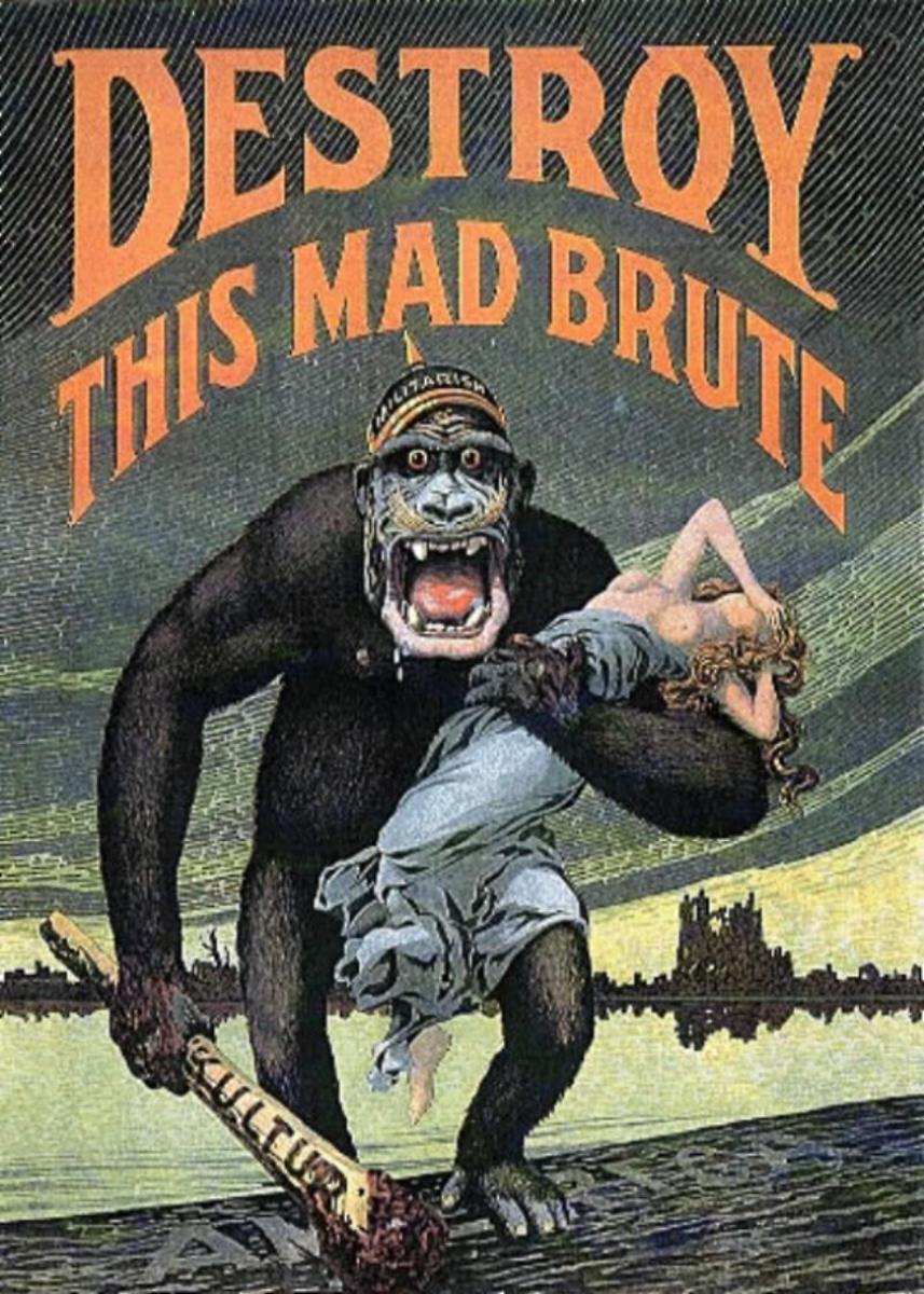 Brutish Hun Gorilla