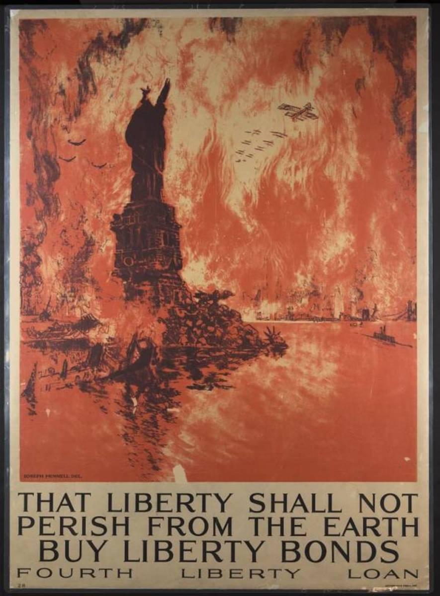 Buy Bonds to preserve Liberty