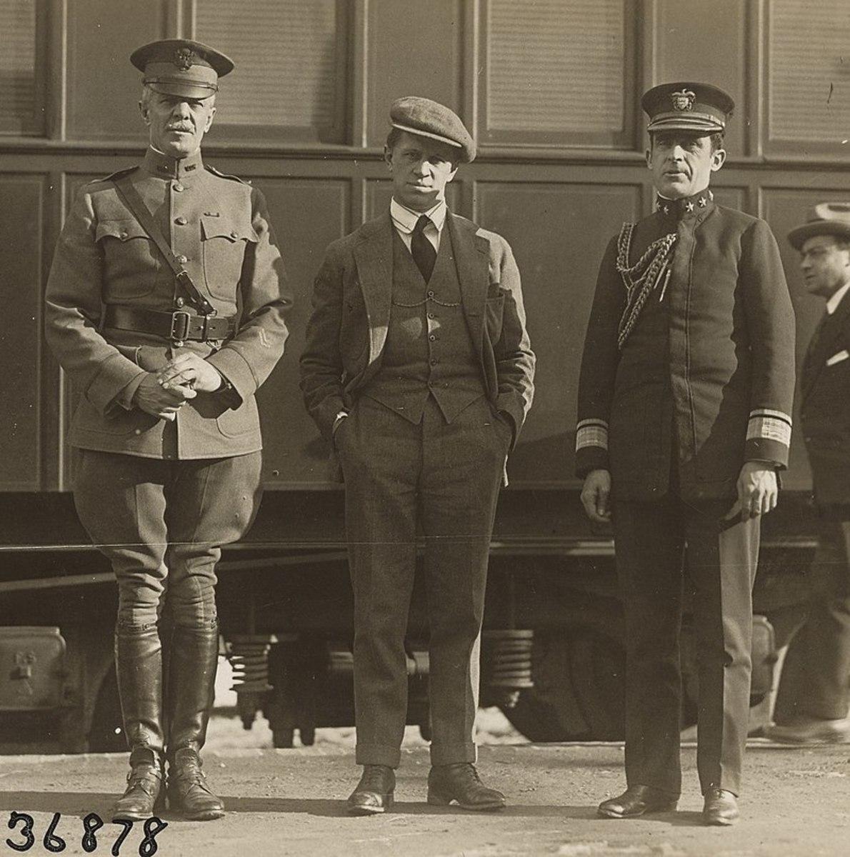 George Creel and members of Creel Committee established by President Woodrow Wilson