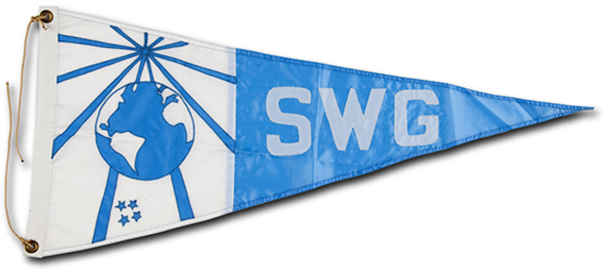 SWG Flag, Placed Around the World, In Outer Space, and  In the  Depths of the Ocean