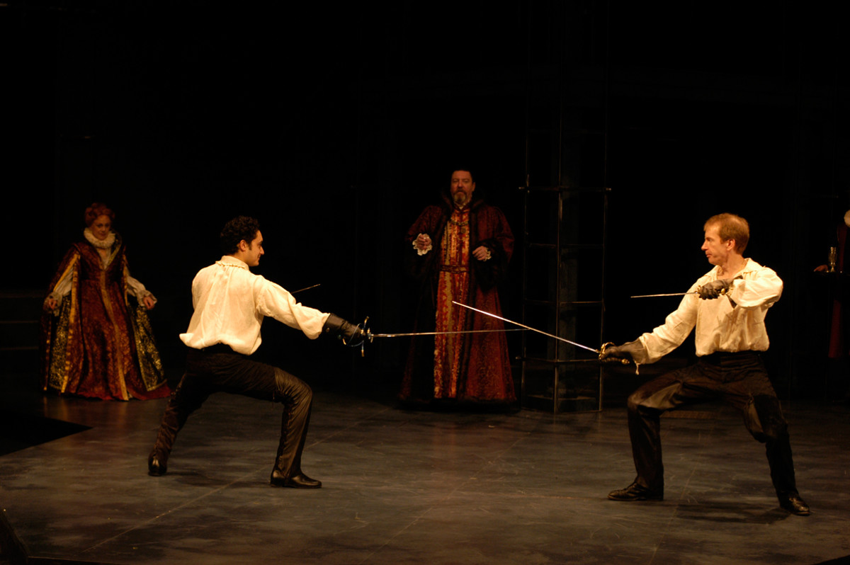 Hamlet and Laertes Duel
