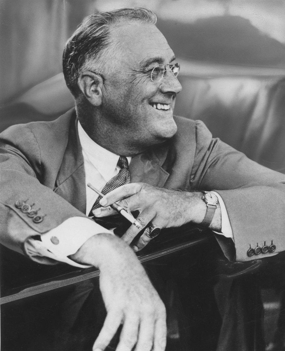 Franklin D. Roosevelt, 1937