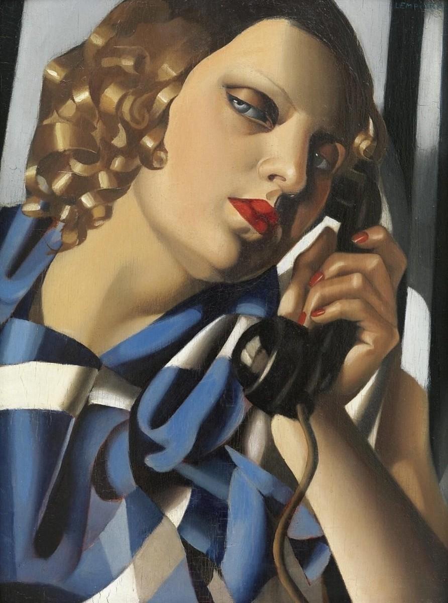 Tamara de Lempicka - Telephone Irinaraquel