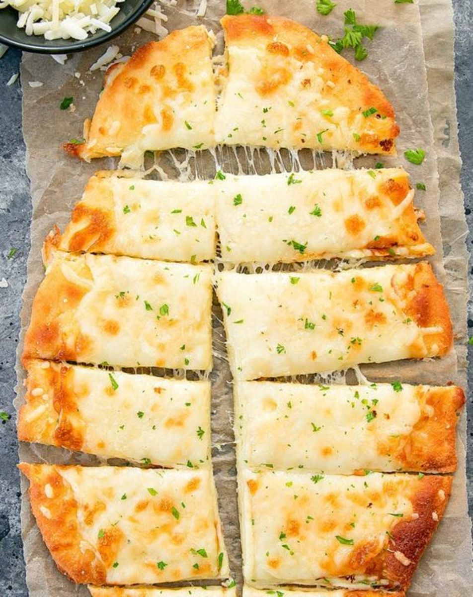 Keto Bread Sticks by kirbiecravings.com