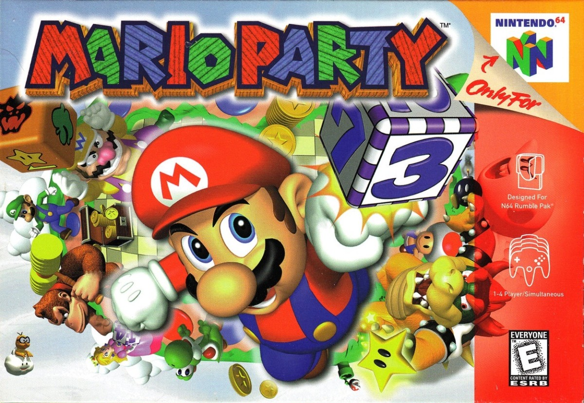 Doesn't have to be Mario Party but shouldn't exclude it ether