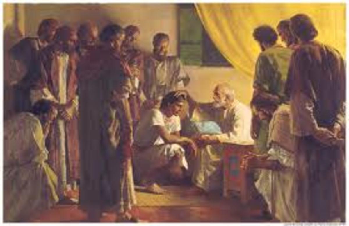 Jacob blessing the twelve