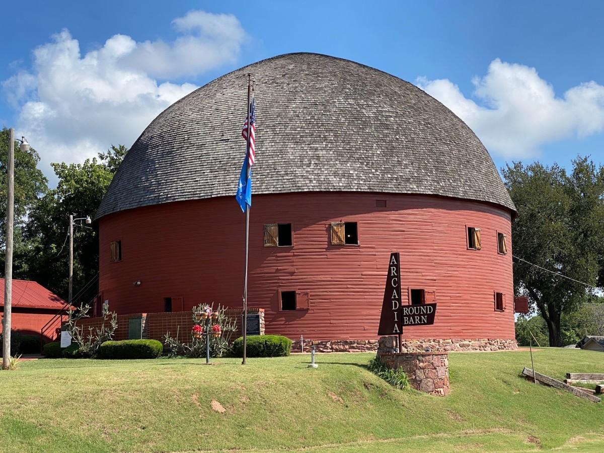 The Round Barn, Arcadia, Oklahoma.