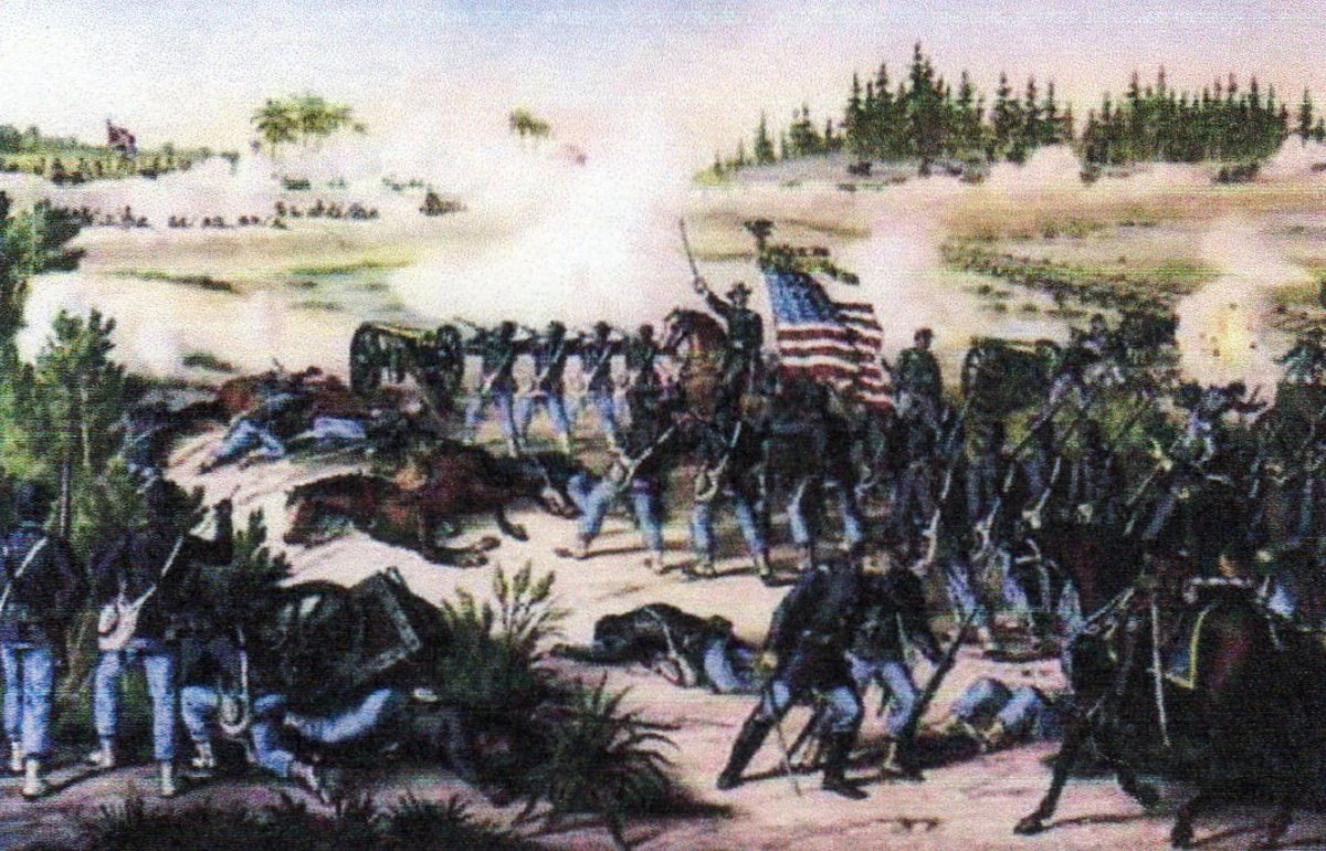 Battle of Franklin, Tennessee, (courtesy History Pictures.com)