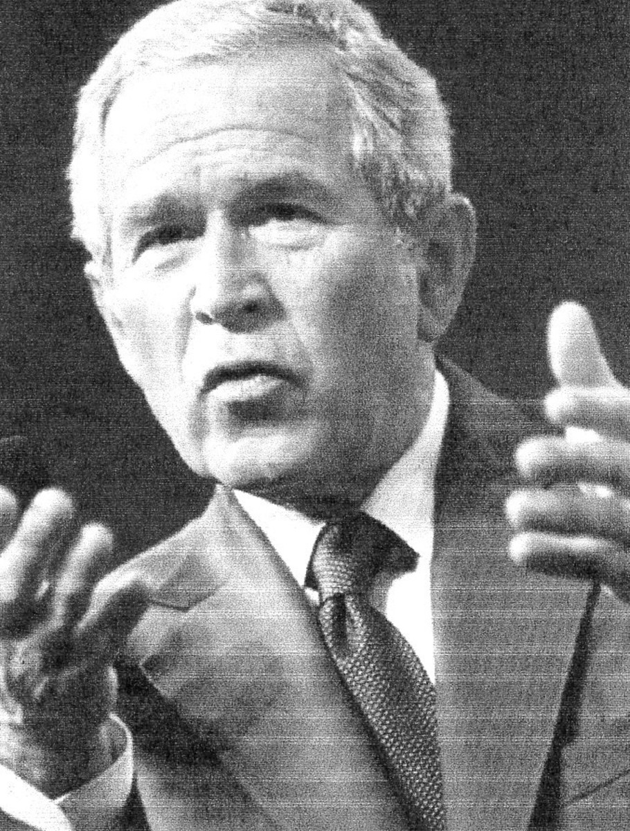 George W. Bush, the forty-third president, Republican, 2001-2009 added $6 trillion to the national debt.
