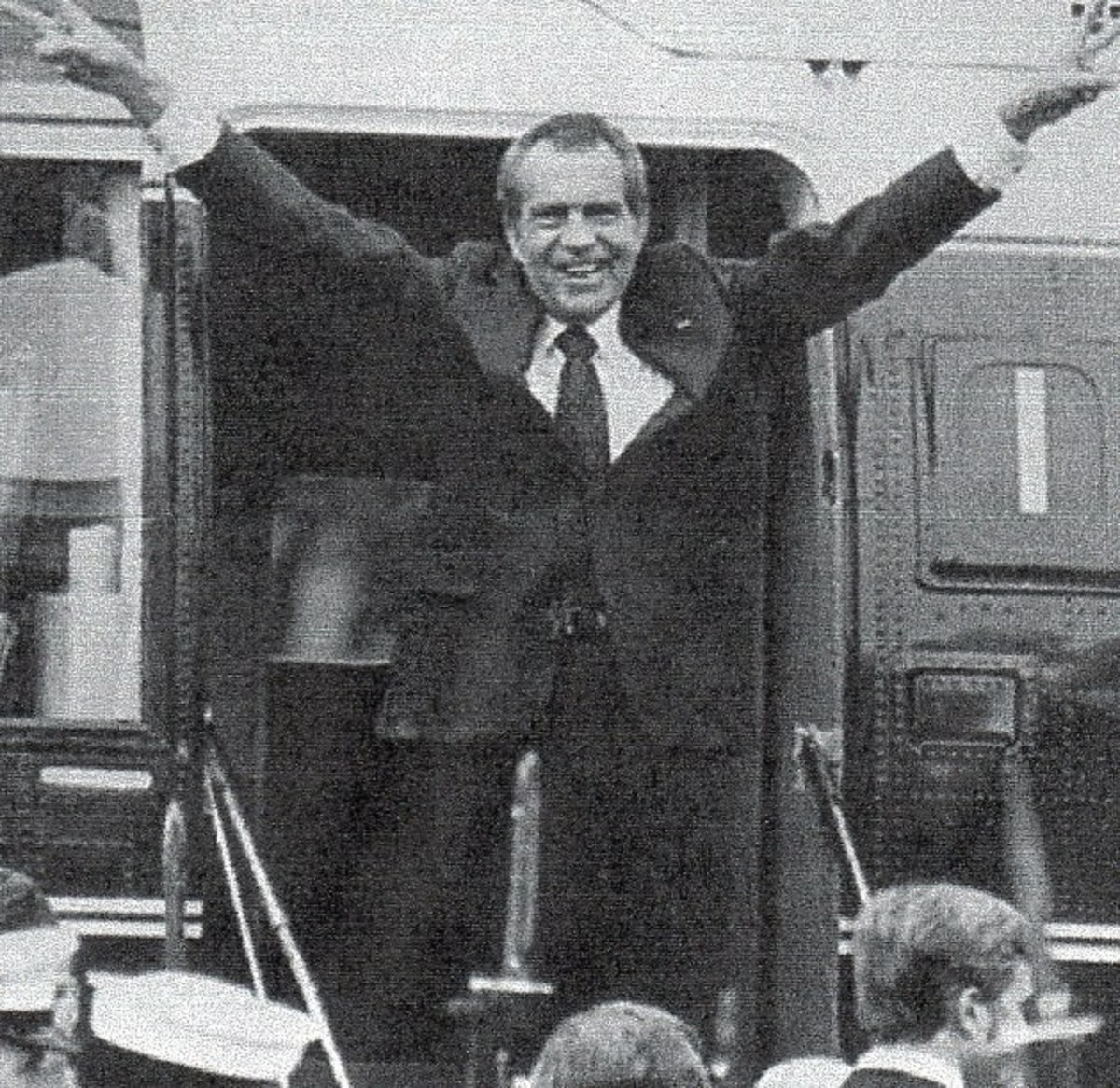Richard M. Nixon, the thirty-seventh president,1969-1974 arrived in office in controversy and left in more. He also added 200 billion to the debt.