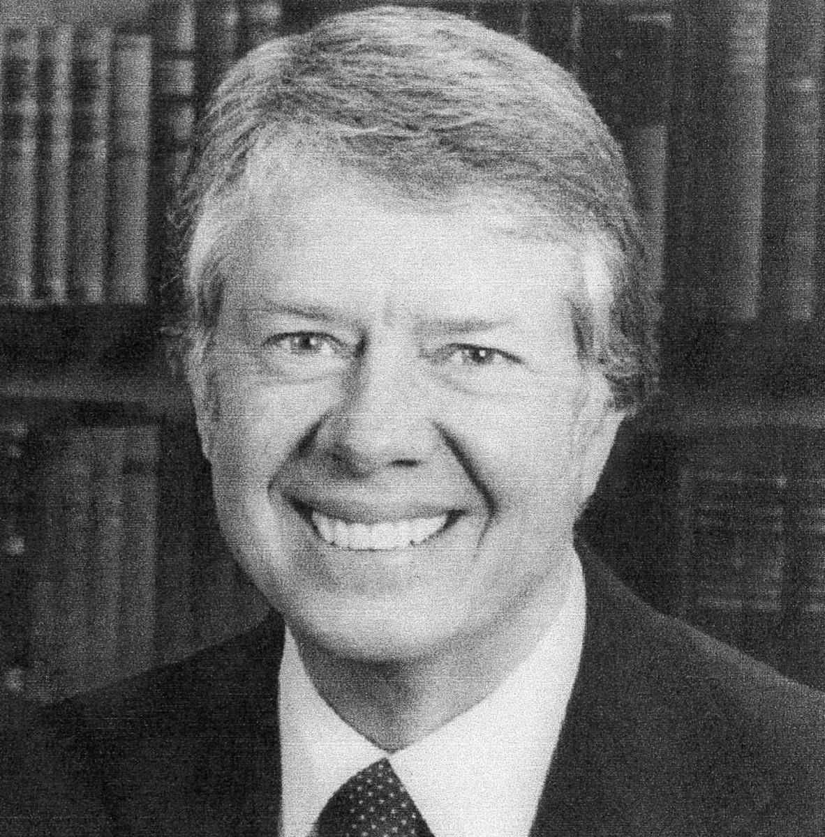 Jimmy Carter, the thirty-ninth president, Democrat, 1977-1981
