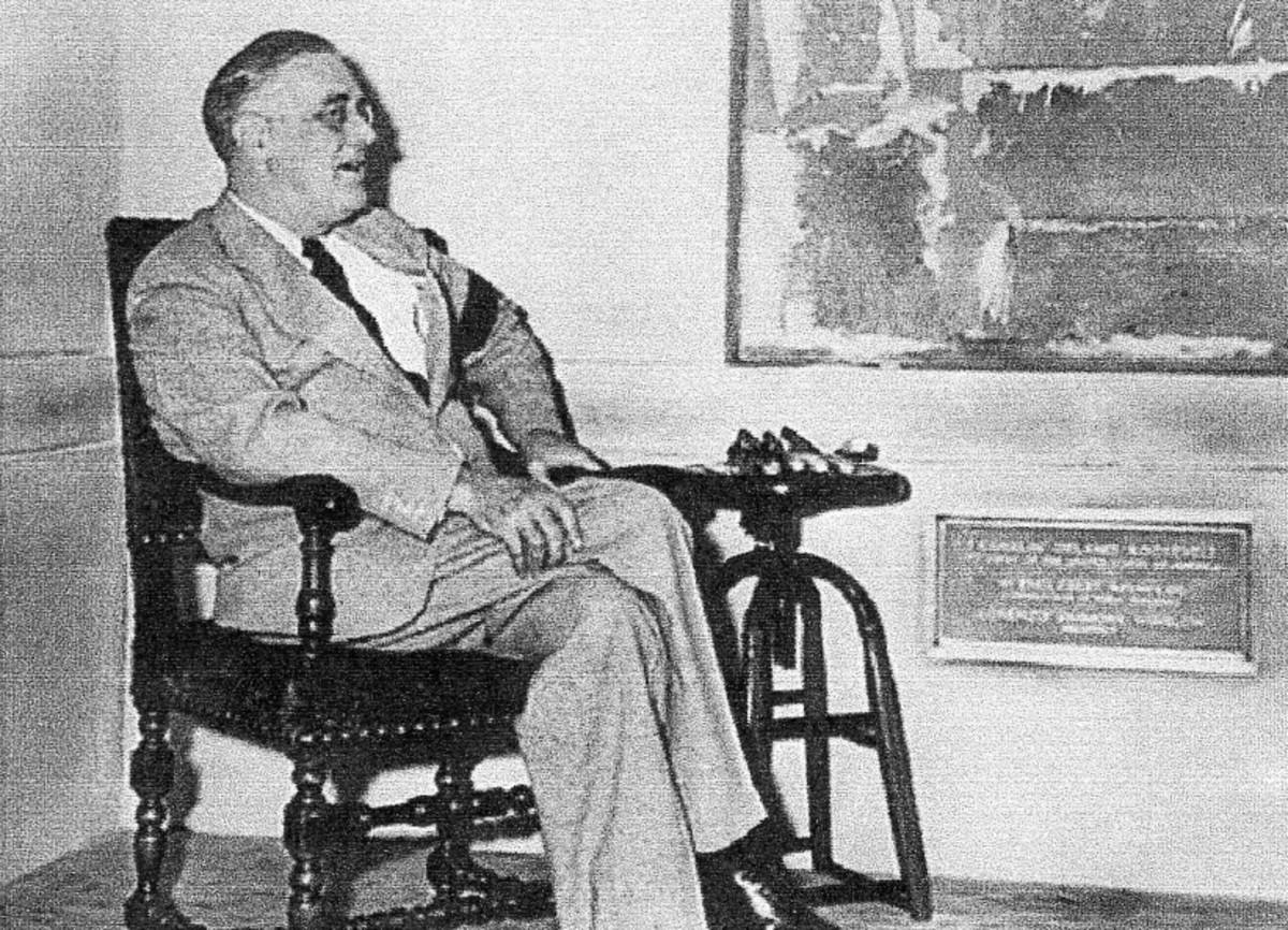 Franklin Delano Roosevelt,Democrat, Thirty-second President, 1933-1945, Democrat