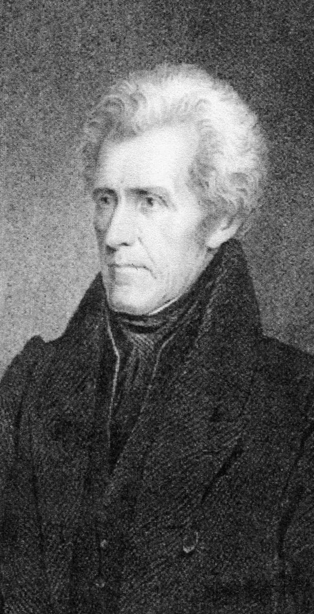 Andrew Jackson, Seventh President, Democrat from Tennessee