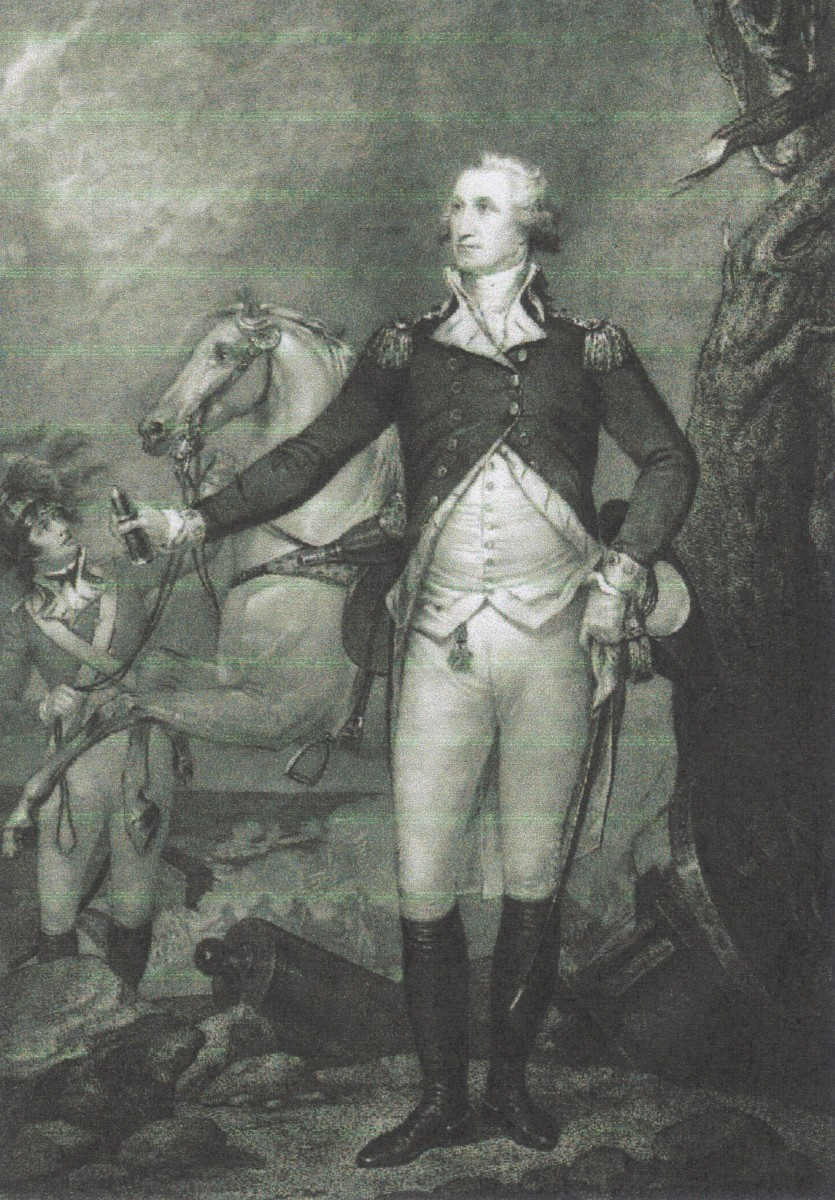 General Washington, First President, party: Federalist, from Virginia