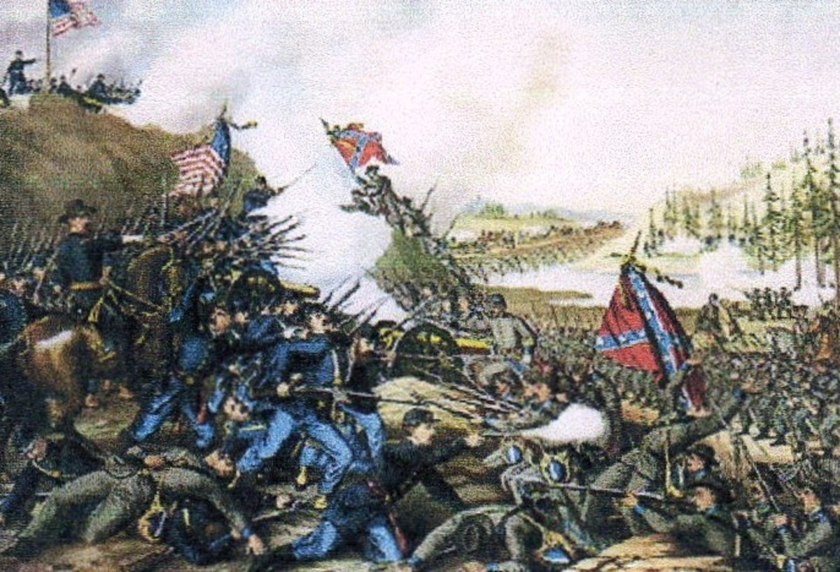 Civil War  -- Battle of Olustee, Florida  (courtesy History Pictures.com)