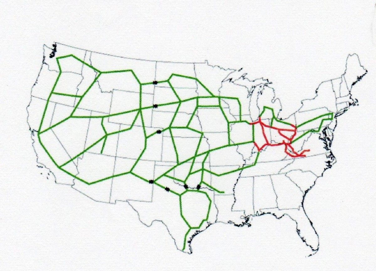 The Interstate came into being -- an ambitious and expensive project, but necessary. A nation's commerce depends on transportation. Something present day is neglecting.