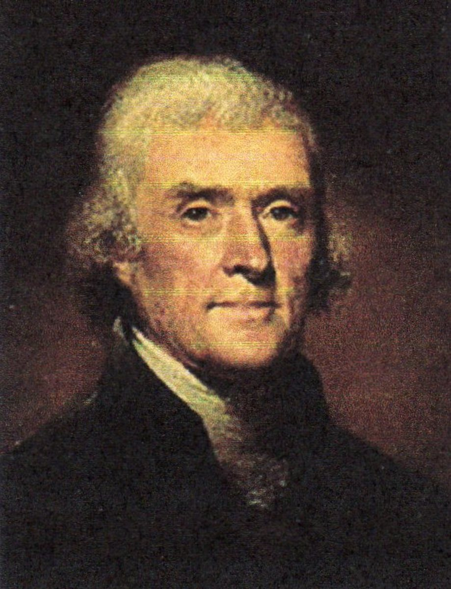 Thomas Jefferson, Third President, party: Republican, from Virginia