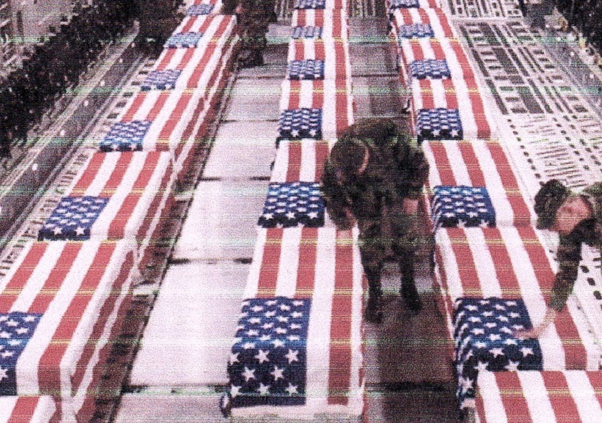 Americans killed in Iraq: 4,356, in Afghanistan: 932, official number of wounded: 31,582. Cost to date in Iraq: $500 billion, Afghanistan: $197 billion.