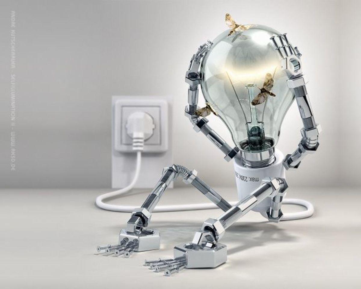 Selfillumination 2 by Andre Kutscherauer