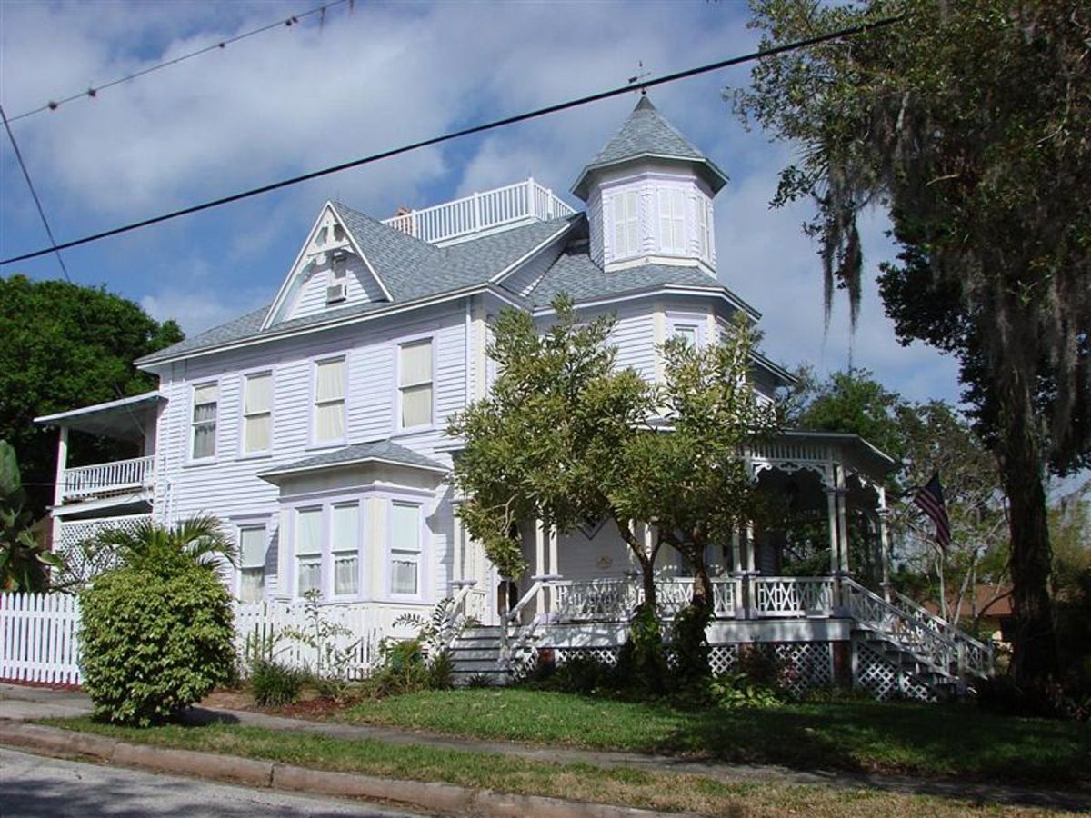A historic landmark: The William H. Gleason House.