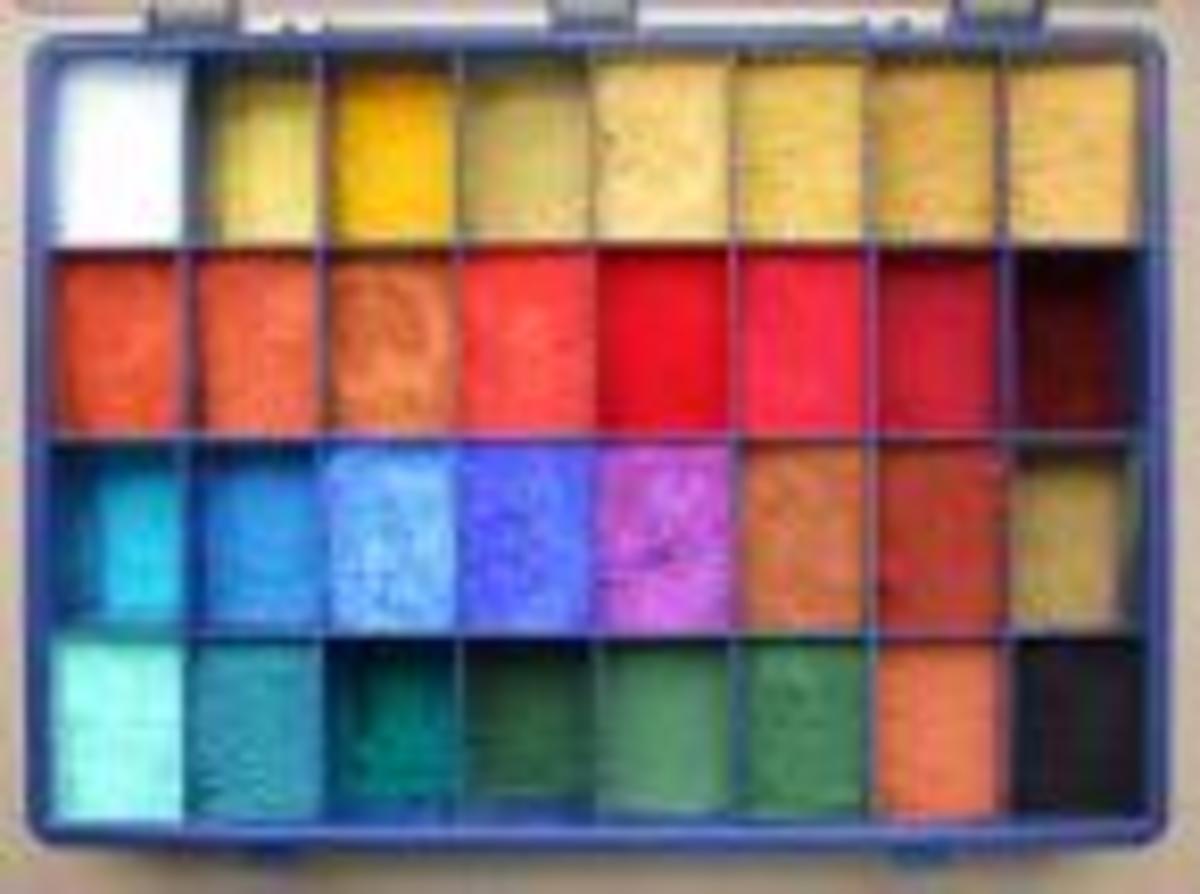 A Pigment Palette